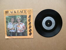 "Black Lace - Agadoo - 7"" vinyl single record - FLA107 FLAIR RECORDS 1984"