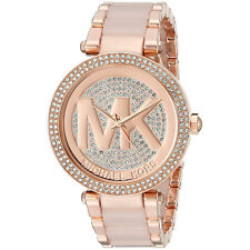 Women's Watch Michael Kors MK6176 Parker Dress Watches Rose Gold Quartz