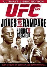 UFC #135 - Jones vs Rampage (DVD, 2011, 2-Disc Set) - Region 4