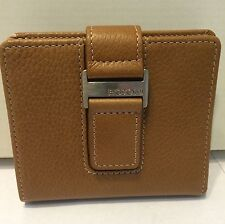 New Boconi Ladies RFID ID Wallet Toast