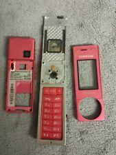 Samsung X830 Handy Gehäuse rosa #3 BC SGH-X830 phone case cover housing pink