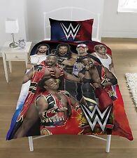 WWE Superstars Bettwäsche & Kissenbezug für Einzelbett *NEU* Cena, Reigns Duvet