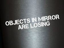 1 x 2 forcé autocollant Objects in Mirror are losing sticker tuning des autocollants