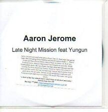 (289J) Aaron Jerome, Late Night Mission - DJ CD