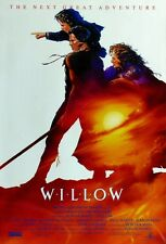 POSTER WILLOW RON HOWARD GEORGE LUCAS VAL KILMER WARWICK DAVIS LOCANDINA PHOTO 1
