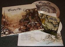 """FINNTROLL-BLODSVEPT-2013 LP+7"""" WHITE VINYL+SLIPMAT-LIMITED TO 200-NEW & SEALED"""