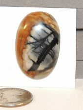 Picasso Jasper Oval Cabochon  38x26mm with 6mm dome (5458)