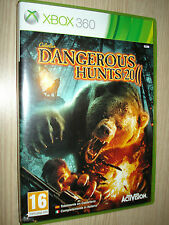 GIOCO XBOX 360 X BOX DANGEROUS HUNTS 2011 COMPLETAMENTE IN ITALIANO