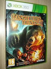 GIOCO XBOX 360 X BOX DANGEROUS HUNTS 2011 COMPLETAMENTE IN ITALIANO