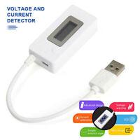 Mini Digital USB Voltmeter Current Voltage Meter Charger Power Detector Tester