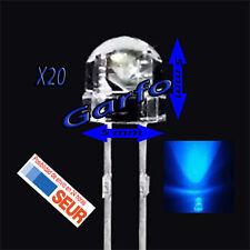 20X Diodo LED 5X5 mm Azul 2 Pin alta luminosidad