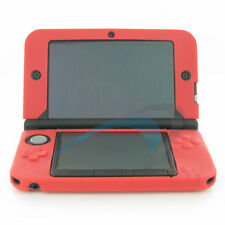 Protective cover for Nintendo 3DS XL LL silicone soft skin New ZedLabz – Red
