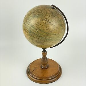 """Early 20th Century Philips 5"""" Inch Educational Terrestrial Globe London George"""