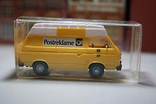 VW Transporter der DBP Postreklame in OVP  (Wiking/BB/D 188