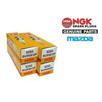 NGK PLATINUM SPARK PLUGS - MAZDA RX7 FC3S & FD3S - BUR9EQP x 4