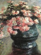 Claude Monet / Metropolitan Museum Of Art Poster / Chrysanthemums