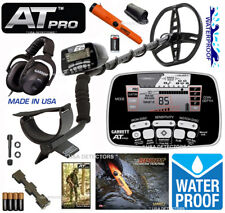Garrett AT PRO Metal Detector With PROPOINTER AT Pinpointer & MS-2 HEADPHONE