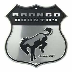 Sign - Ford Bronco Country Shield