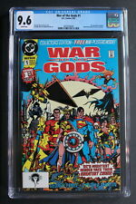 WAR OF THE GODS #1 WONDER WOMAN vs CIRCE 1st Modern 1991 Movie JLA PEREZ CGC 9.6