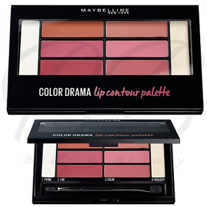 MAYBELLINE Color Drama Lip Contour Highlight Palette - 02 Blushed Bombshell *NEW