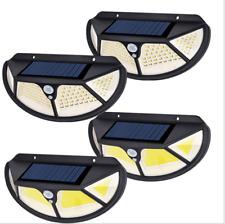 102/122 LED Wireless Solar Power Motion Sensor Light Outdoor 1000LM Wall Light