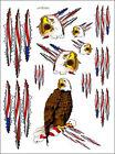 "Sic Designs ""Eagle"" Sticker Sheet SIC025"