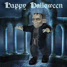 Happy Halloween Card for boy & girls scary Frankenstein's Monster or Invite
