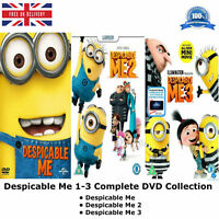Despicable Me 1-3 Despicable Me Series - 1 2 3 Complete Collection New UK R2 DVD
