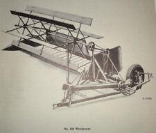 IH International 120 Windrower Parts Catalog Manual Book Original! IHC 1947