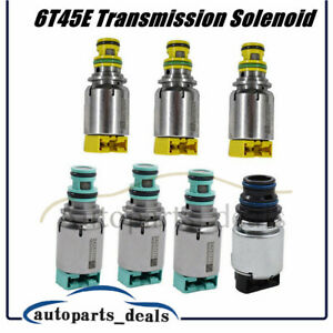 7PCS/Set Transmission Solenoid Valve 6T45E 6T40 For Buick Opel Chevolet Saab