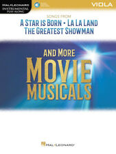Songs from A Star Is Born, La La Land and The Greatest Showman-Viola Music Book!