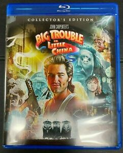 Big Trouble In Little China - Bluray Region A (USA NTSC) Special Edition - VGC