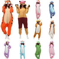 New Adult Kigurumi Anime Cosplay Costume Animal Unisex Onesie Pyjamas Sleepwear