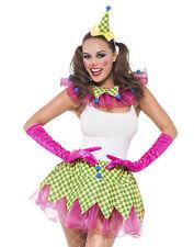 Sexy Circus Clown Tutu Birthday Big Top Performer Halloween Costume Kit