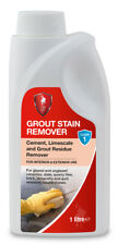 LTP Grout Stain Remover 1 litre for Tiles - Removes Cement - Limescale Residues