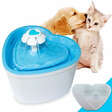Pet Fountain, 2L Super Quiet Automatic Electric Water Dispenser with 4 Filters