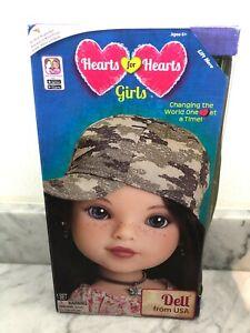 Hearts for Hearts Girls Doll Dell from USA Appalachia Kentucky Hearts 4 Hearts