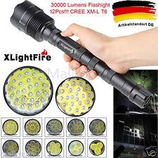 XLightFire 40000LM 24x CREE XML T6 5Modi 18650 Super Bright LED Taschenlampen
