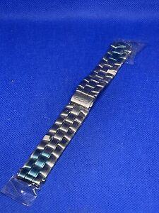 Correa armis de reloj seiko 18mm Ref 44V4 B.1 acero nueva