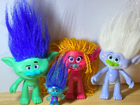 Trolls DJ Suzuki, Glitter Diamond And a Lot More Action Figure