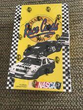 1991 season Maxx race cards 36 packs box set NASCAR trading cards new unopened