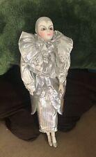 "Brinn's 18"" Handmade Limited Edition Porcelain Clown Doll-Collectible Edition 24"