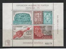 B1468 Spanje Blok 19 postfris