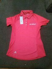Goof Channel Adidas Womens Golf Shirt XS $65 Tag