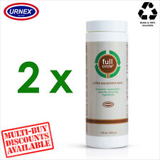 2 x Urnex FULL CIRCLE Espresso Coffee Equipment Wash Cleaner Recyclable - 500g
