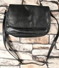 Ladies TULA Black Genuine Leather Crossbody Shoulder Handbag - R09