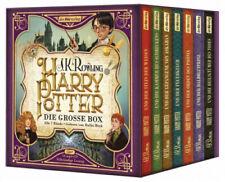 Harry Potter. Die große Box. Alle 7 Bände, 14 MP3-CDs von J. K. Rowling NEU