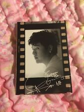 Super Junior Shindong B/W Film Starcard Star Collection Official PhotoCard Kpop