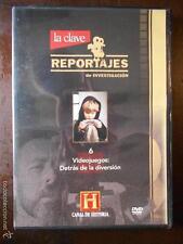 DVD VIDEOJUEGOS : DETRAS DE LA DIVERSION - REPORTAJES DE INVESTIGACION