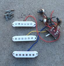 Squire By Fender-Bullet-Strat-Guitar-Pickups-W/ Pots & 5 Way Switch-Free Ship!